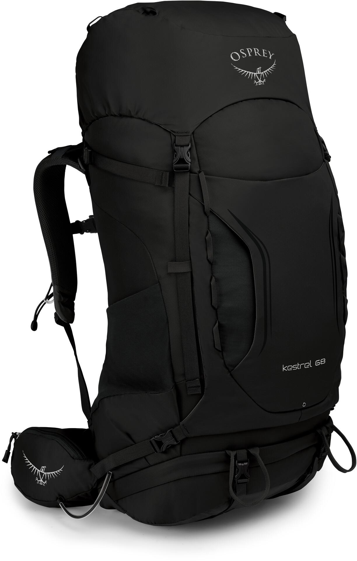 Osprey Kestrel 68 Backpack Men black at Addnature.co.uk